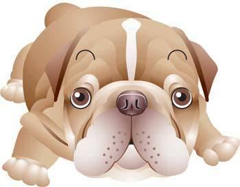 free vector Dog Vector 5