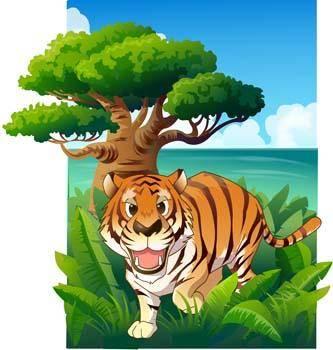 free vector Tiger 12
