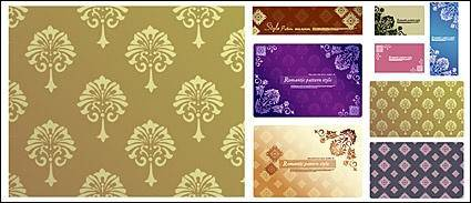 free vector Vector background patterns-27