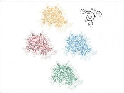 free vector Organic Shapes