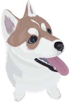 free vector Dog Vector 45