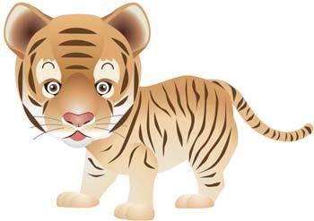 free vector Tiger 7
