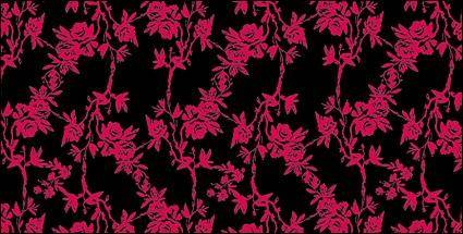 free vector Vector rose pattern design fashion