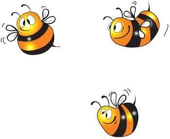 free vector Bee 3