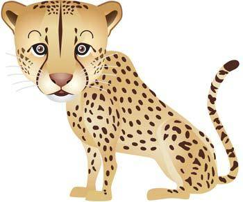 free vector Leopard 4