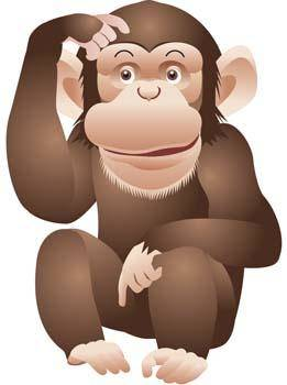 free vector Monkey 11