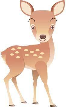 free vector Deer 4
