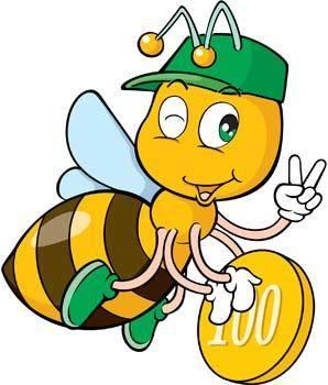 free vector Bee 19