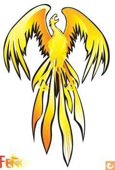 free vector Phoenix Vector