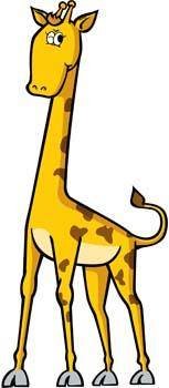 free vector Giraflfe 4