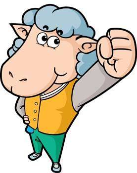 free vector Sheep vector 5