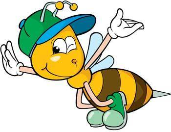 free vector Bee 24