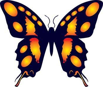 free vector Butterfly Vector 14
