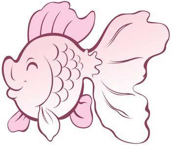free vector Gold Fish 5