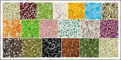 free vector 19, over the tile pattern vector background material
