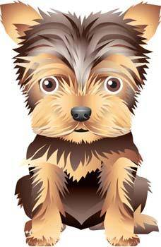 free vector Puppy vector 12