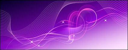 free vector Dreams dynamic lines background