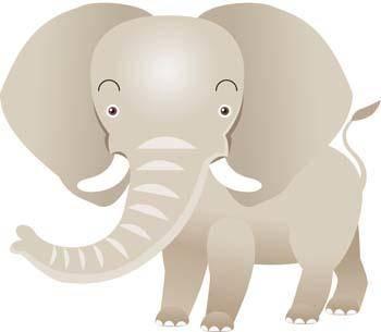 free vector Elephant 9