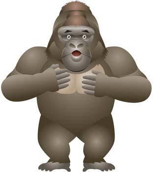 free vector Monkey 15