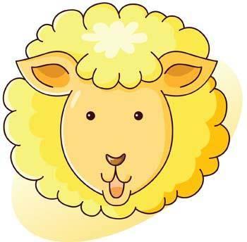 free vector Sheep vector 6
