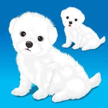 Puppy vector 2