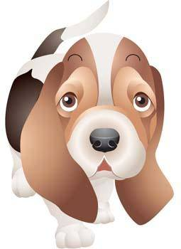 free vector Little Dog Vector 3
