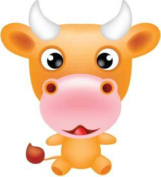 free vector Cow 20