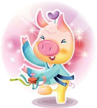 free vector Pig 61