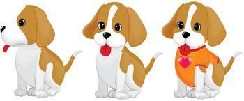 Puppy vector 5