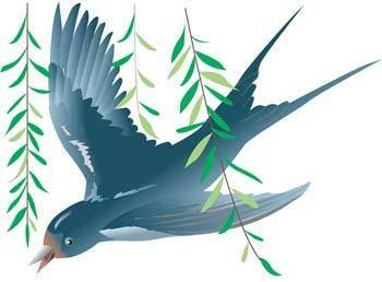 free vector Swallow 2