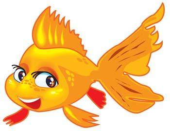 free vector Gold Fish 2