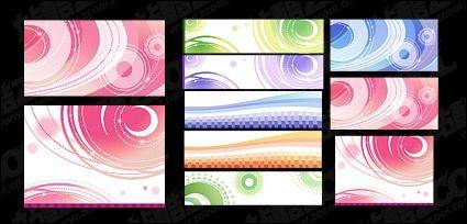 free vector Dreams vector lines background material