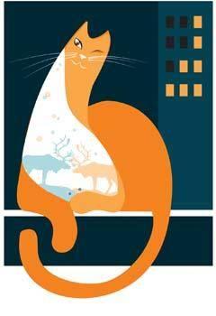free vector Cat vector 13