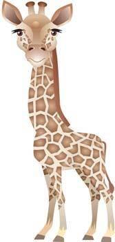 free vector Giraflfe 2