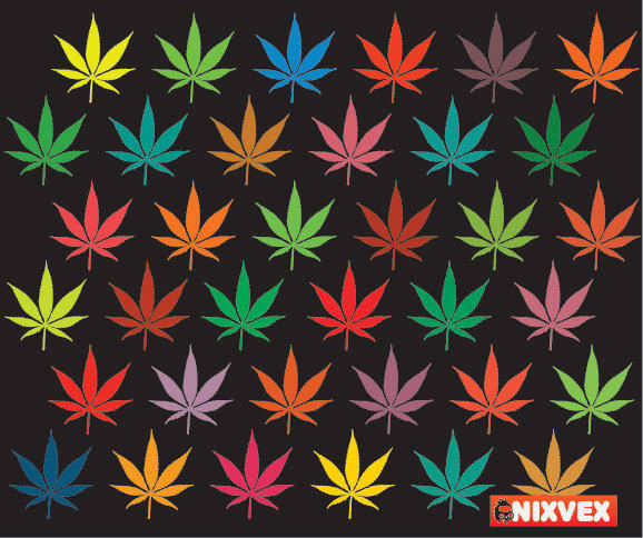 NixVex Free Vector of Colorful Leaves