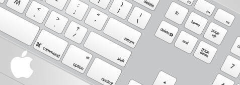 free vector Mac Apple keyboard