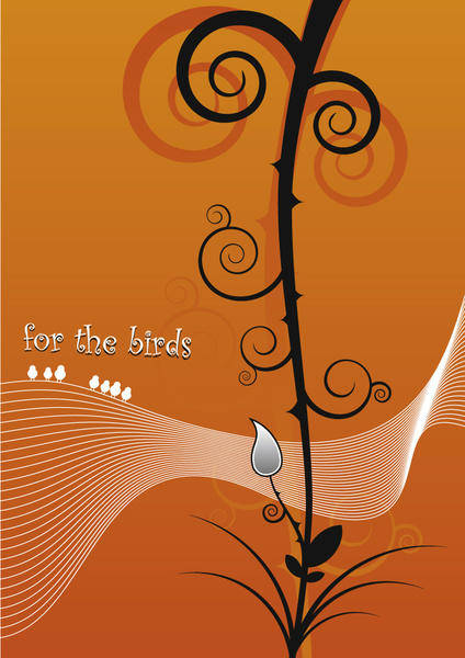 free vector For the birds