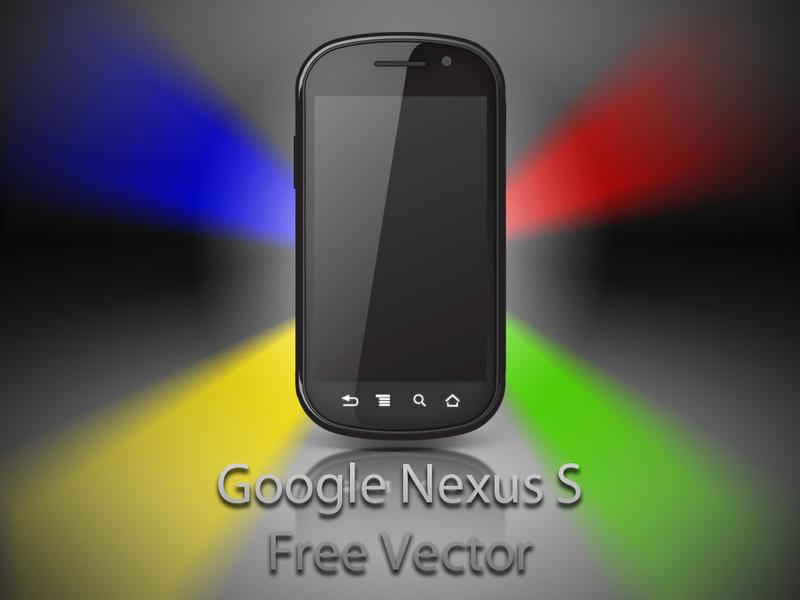 free vector Google Nexus S