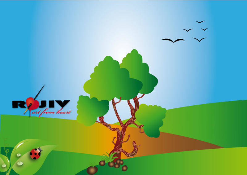 Outdoor Scene Vector