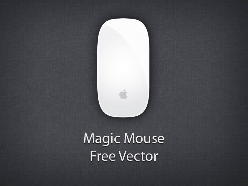 Apple Magic Mouse Vector