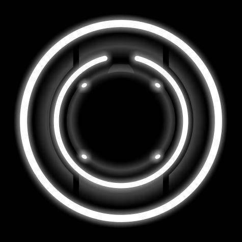 Tron Identity Disc Vector