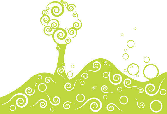 free vector Stylized vector tree