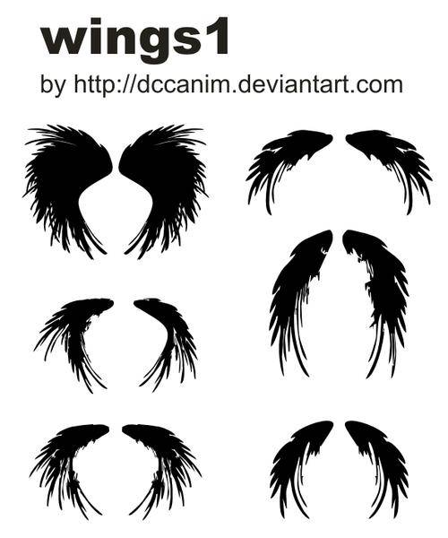 free vector Dccanim_wings1