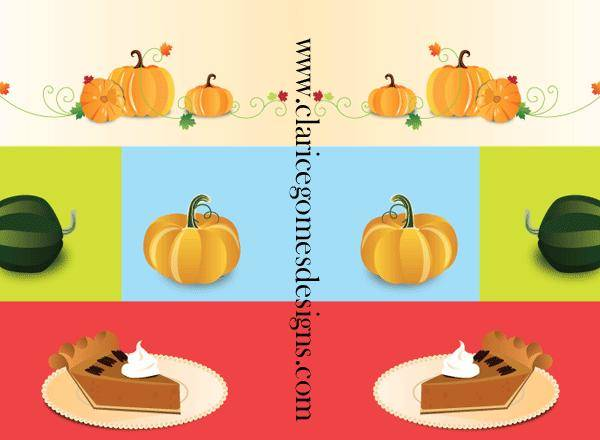 Pumpkin Things Vector