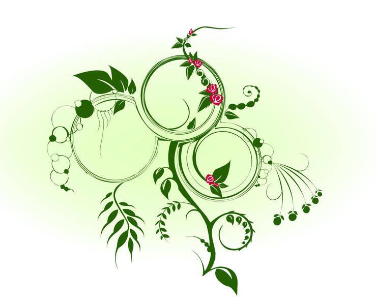 Junglerose Vector