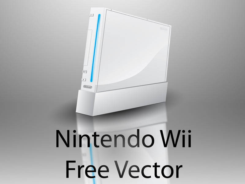 free vector Nintendo wii free vector