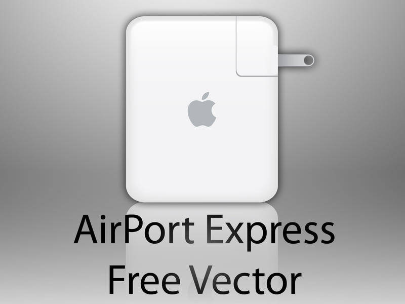 free vector AirPort Express