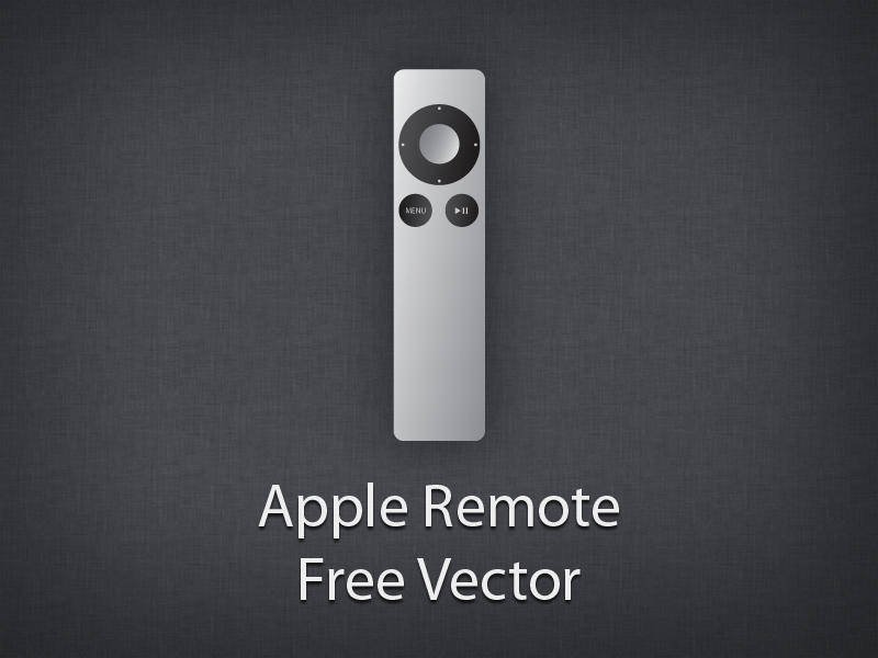 free vector Apple Remote Vector