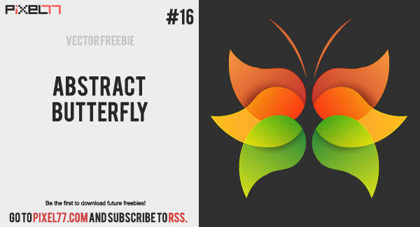 free vector Vector Abstract Butterfly