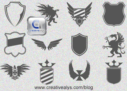 free vector Logo Design Heraldic Elements